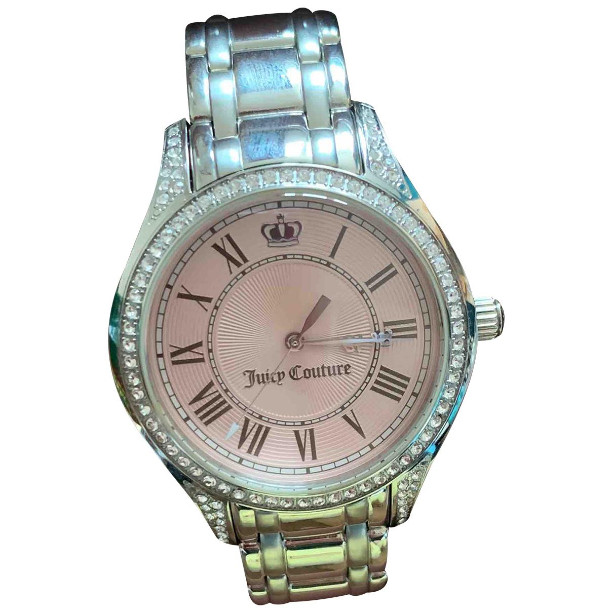 Juicy Couture \N Uhr in  Silber Stahl
