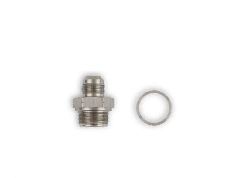 Holley 97-210 ADAPTER, LT ENG BLOK WATER TO -10AN MALE