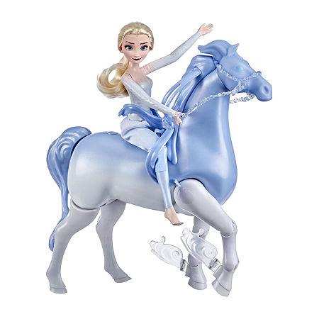 Hasbro Disney'S Frozen 2 Elsa And Swim And Walk Nokk, One Size , No Color Family