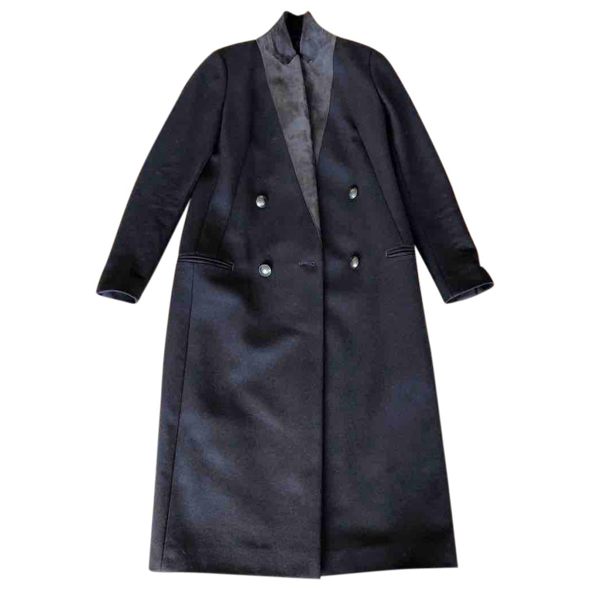 All Saints \N Khaki Wool coat for Women 32 FR