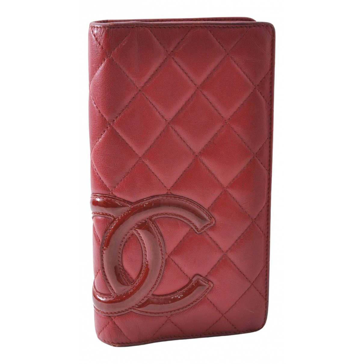 Chanel Cambon Red Leather wallet for Women N