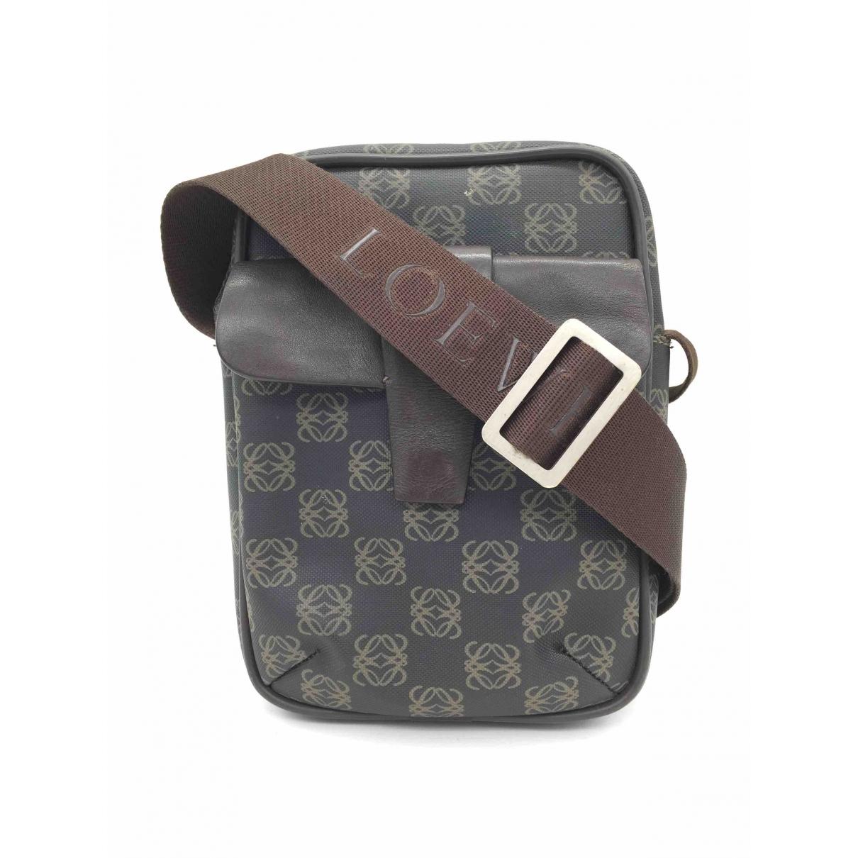 Loewe \N Black Cloth handbag for Women \N