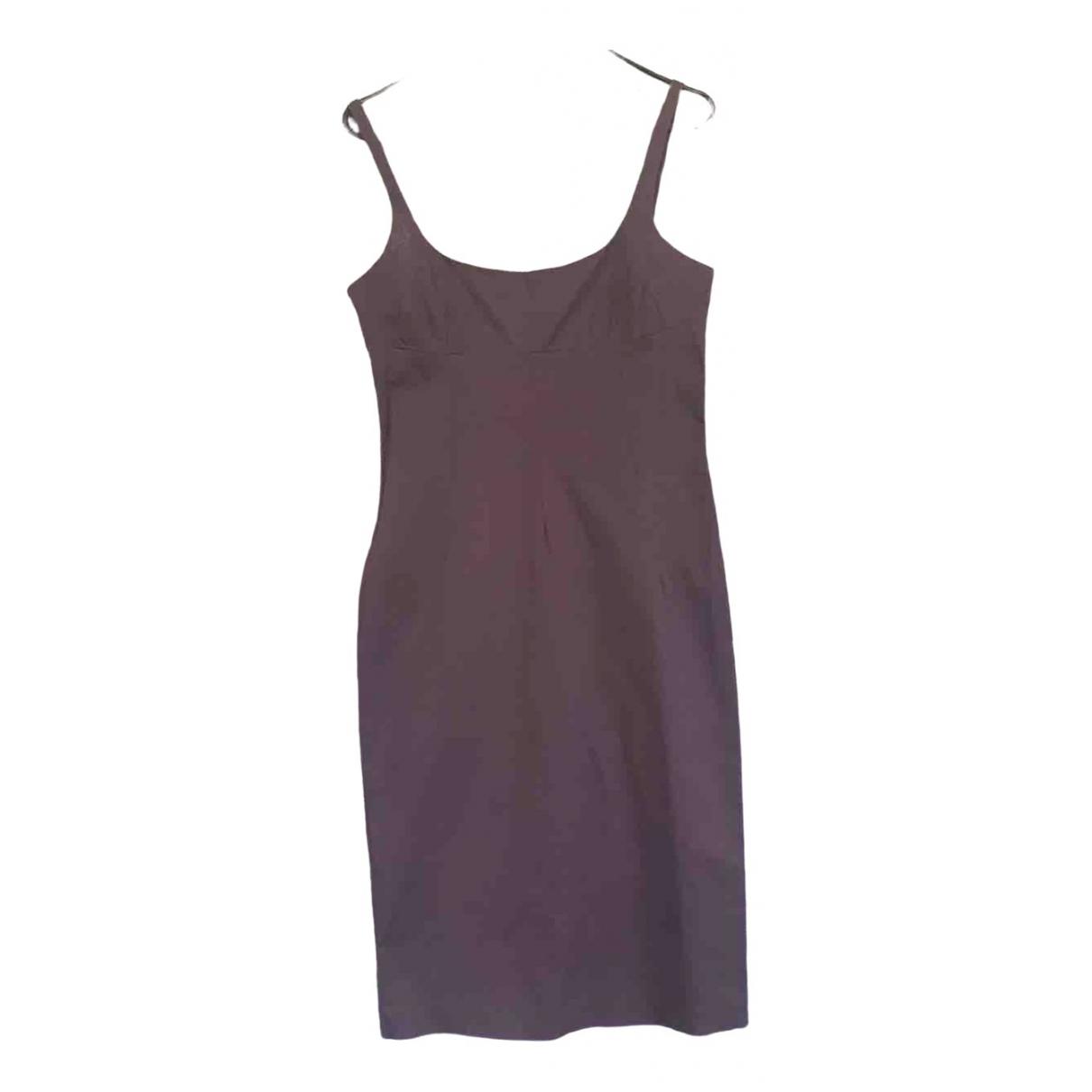D&g \N Kleid in  Braun Baumwolle - Elasthan