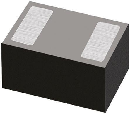 DiodesZetex Diodes Inc 30V 10mA, Schottky Diode, 2-Pin X3-DFN0603 SDM02U30LP3-7B (50)