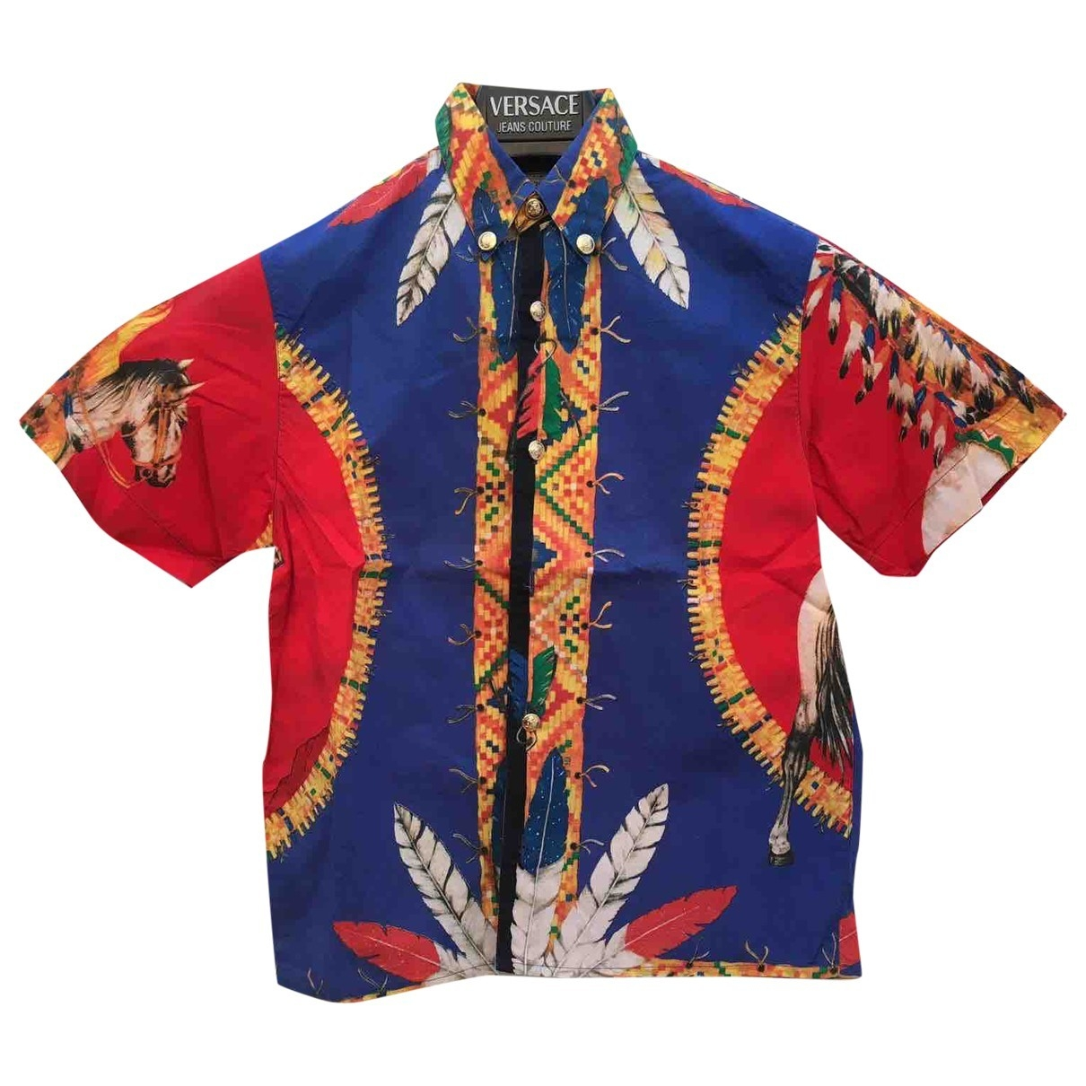 Gianni Versace - Top   pour enfant en coton - multicolore
