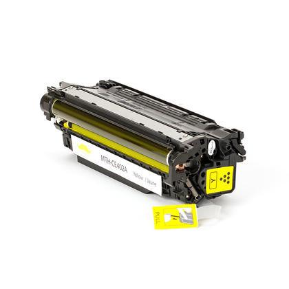 Compatible HP LaserJet Enterprise 500 Color MFP M575f Toner HP 507A CE402A Yellow