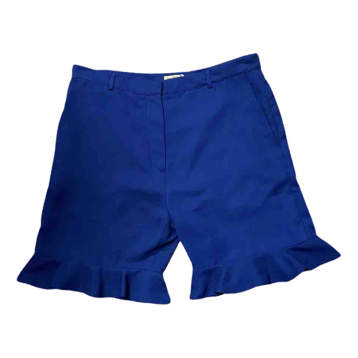 Peter Jensen \N Shorts in  Blau Polyester