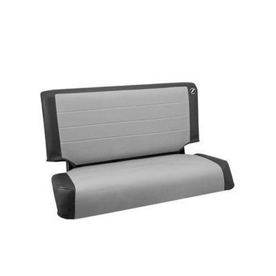 Corbeau Rear Seat Cover (Black/Gray) - 42019
