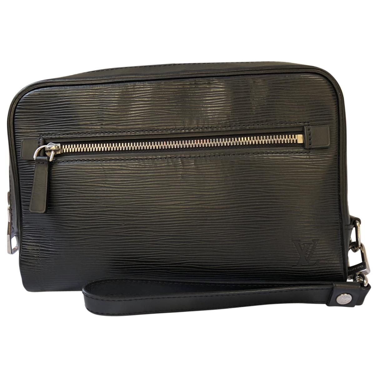 Louis Vuitton KasaÏ Black Leather bag for Men \N