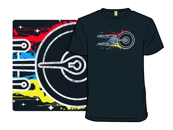 Colorful Trek T Shirt