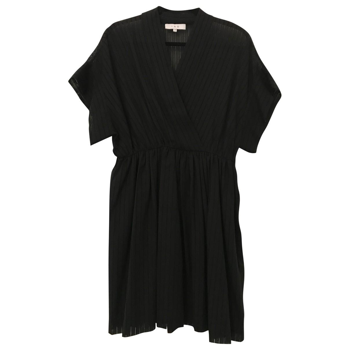 Iro - Robe   pour femme en coton - noir
