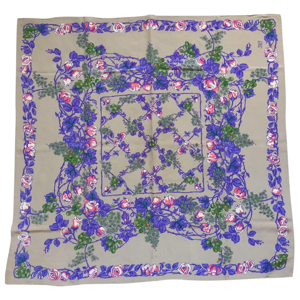 Liberty Of London \N Camel Silk Silk handkerchief for Women \N