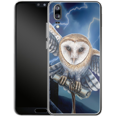 Huawei P20 Silikon Handyhuelle - Heart of The Storm von Lisa Parker