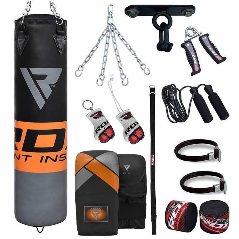 RDX 12O 13pc Boxsack Training and Handschuhe Heim gym