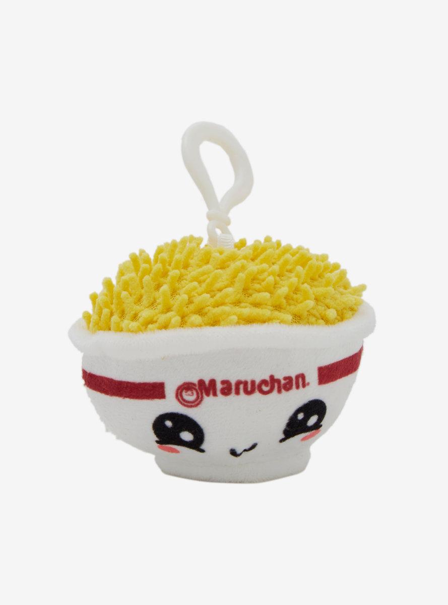 Maruchan Noodle Bowl 3 Inch Plush Keychain