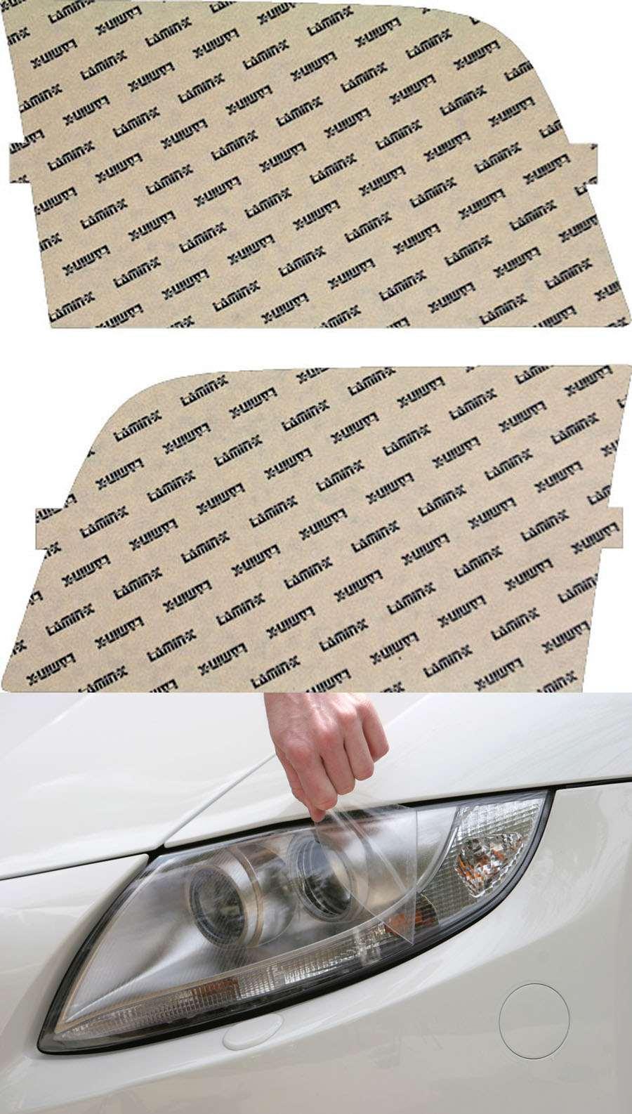 Mercedes S-Class 92-99 Clear Headlight Covers Lamin-X MB014CL