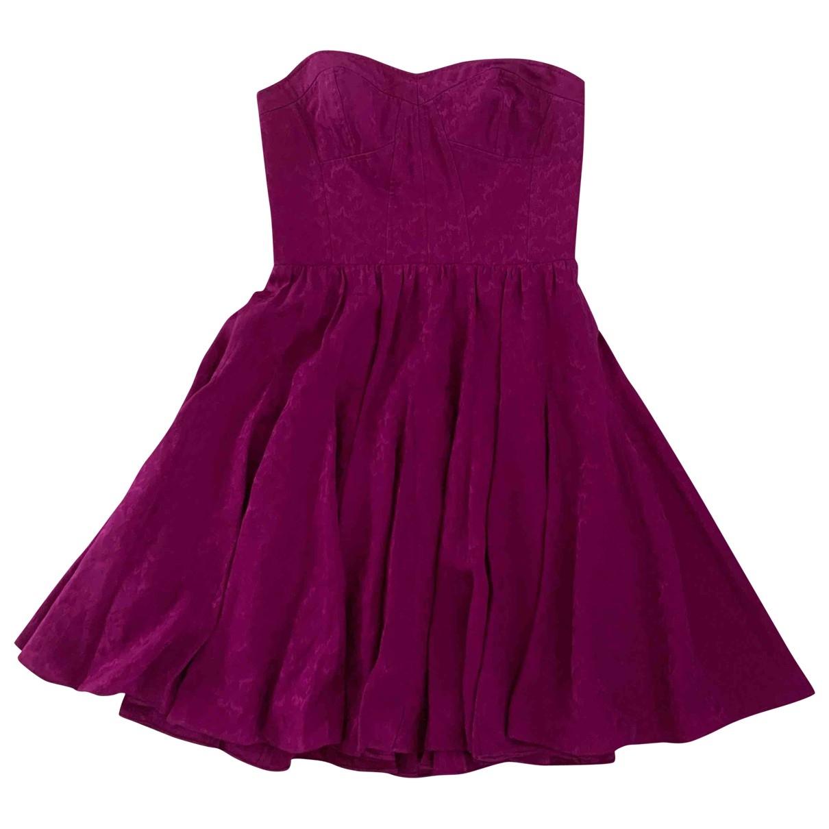 Rebecca Taylor \N Kleid in  Lila Seide