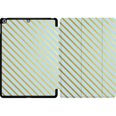 Apple iPad 9.7 (2017) Tablet Smart Case - Gold Foil Stripe von Khristian Howell