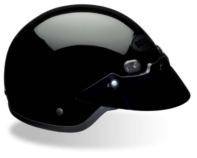 Bell Racing 107104 Shorty Black Solid Helmet 57-58 | MD