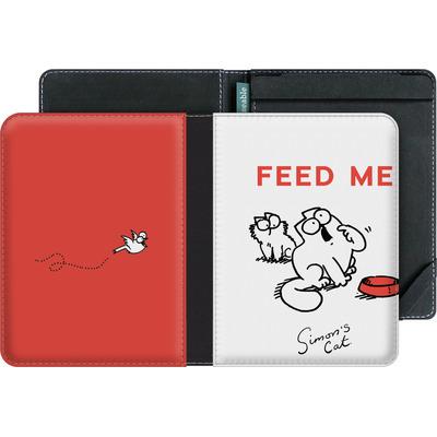 tolino vision 3 HD eBook Reader Huelle - Feed Me von Simons Cat