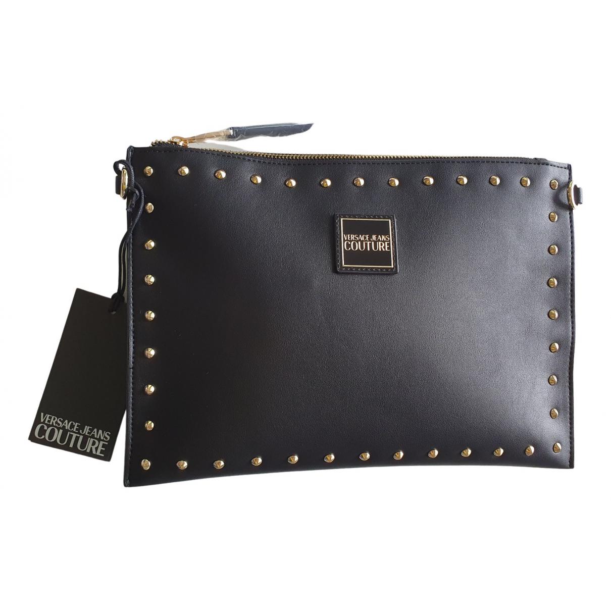 Bolsos clutch en Sintetico Negro Versace Jeans