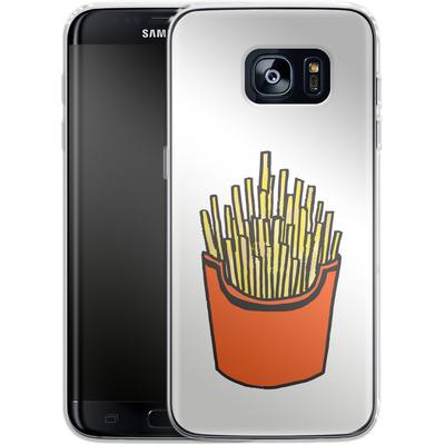 Samsung Galaxy S7 Edge Silikon Handyhuelle - Fries von caseable Designs