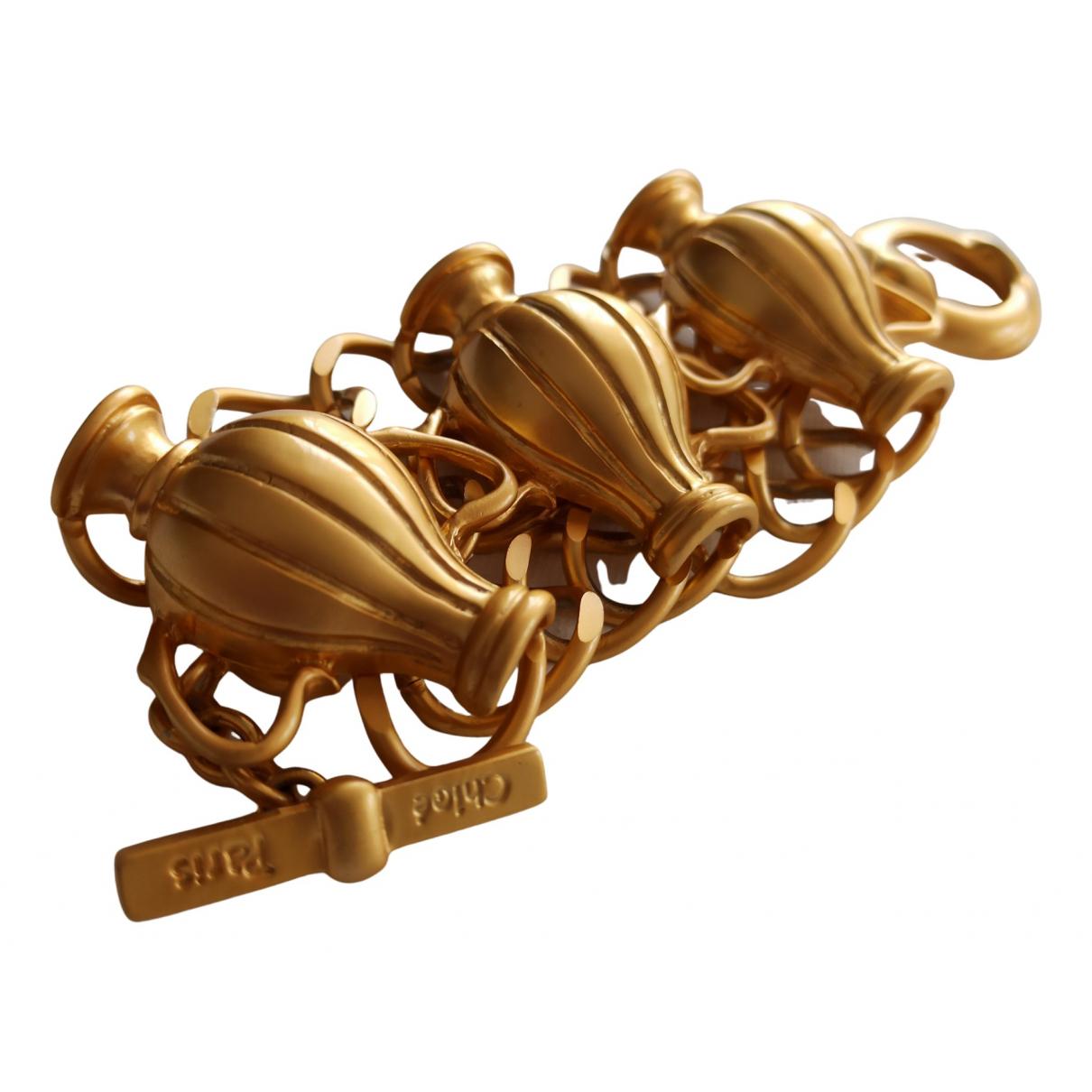 Chloe \N Armband in  Gold Metall