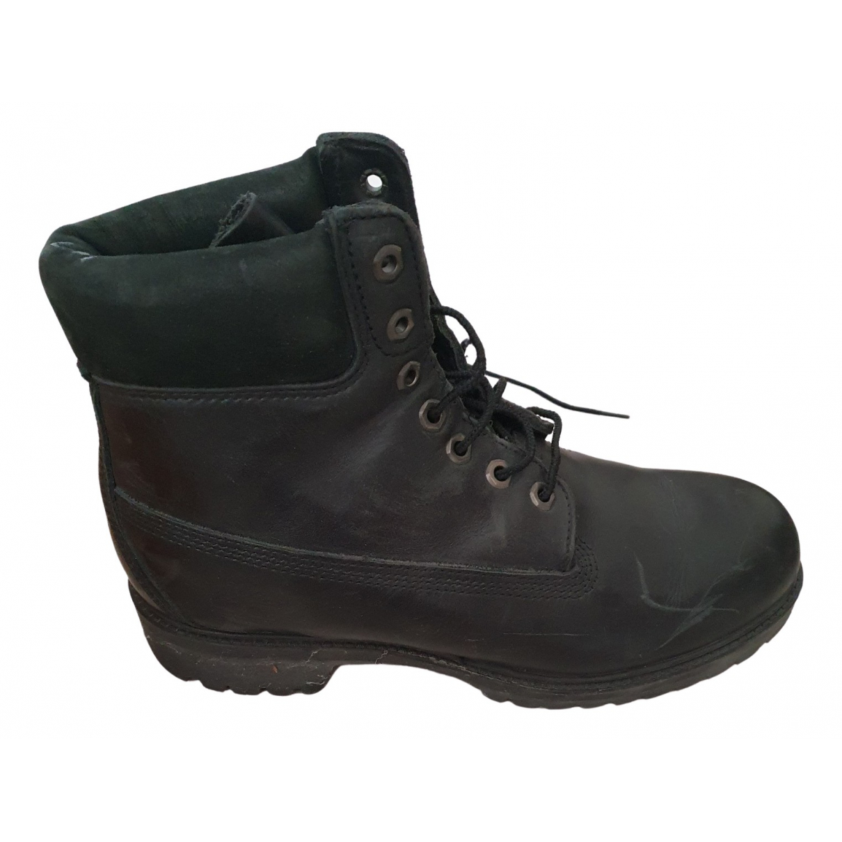 Timberland \N Black Leather Boots for Men 43 EU