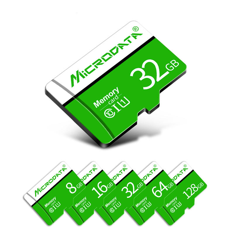 MicroData 8GB 16GB 32GB 64GB 128GB Class 10 High Speed Max 80Mb/s TF Memory Card With Card Adapter For Mobile Phone Xiao