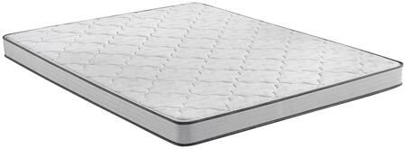 BR Foam 700810001-1040 Full Extra Long Firm 5 Mattress with 1/2 Firm Comfort Foam  4-1/2 Firm Support System and GelTouch