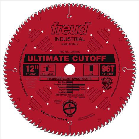 Freud 12 In. x 96T Ultimate Cut-Off Blade
