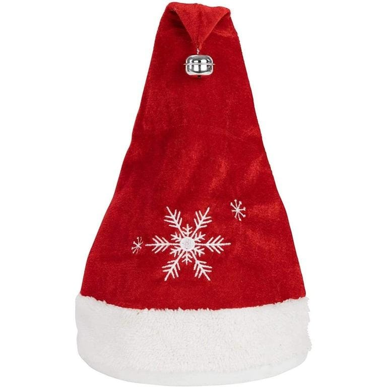 Plushible Animated Christmas Hat with Music - Santa Hat (Red)