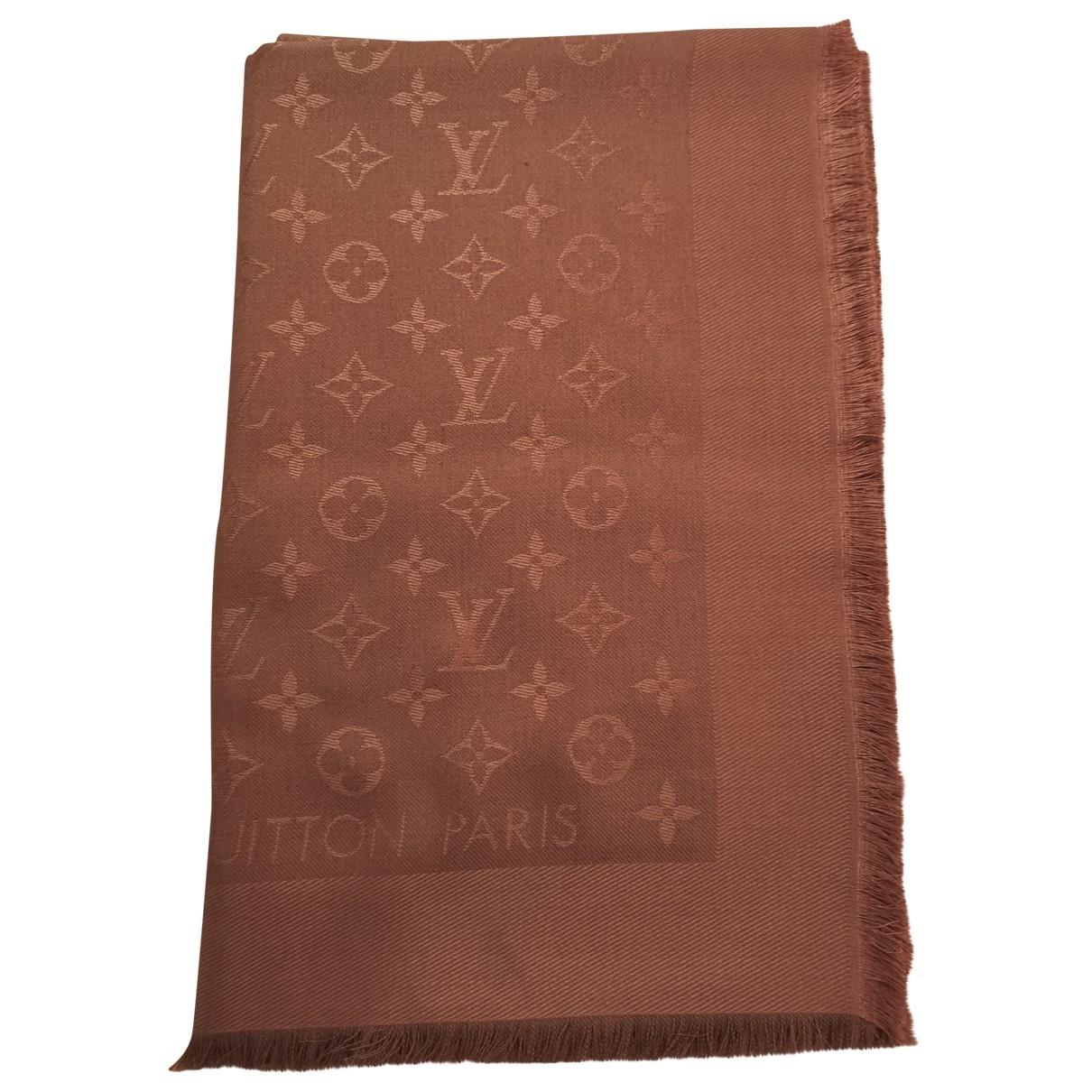 Louis Vuitton - Foulard Chale Monogram pour femme en soie