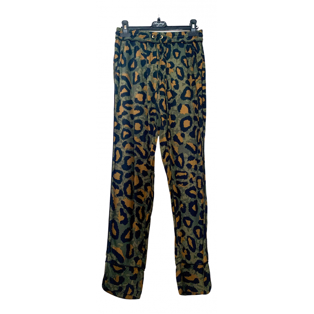 Zadig & Voltaire \N Multicolour Trousers for Women 34 FR