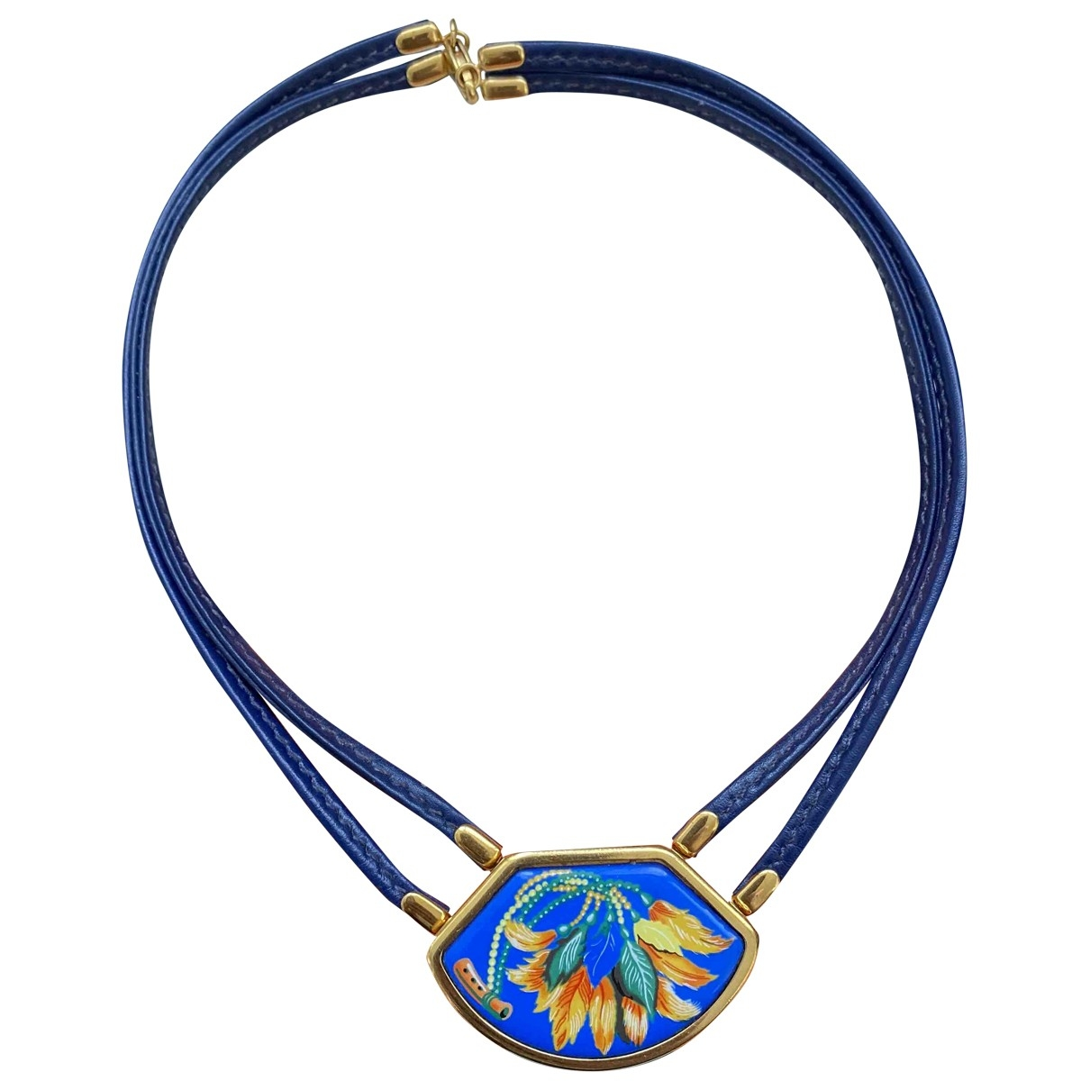 Hermes - Collier   pour femme en metal - multicolore