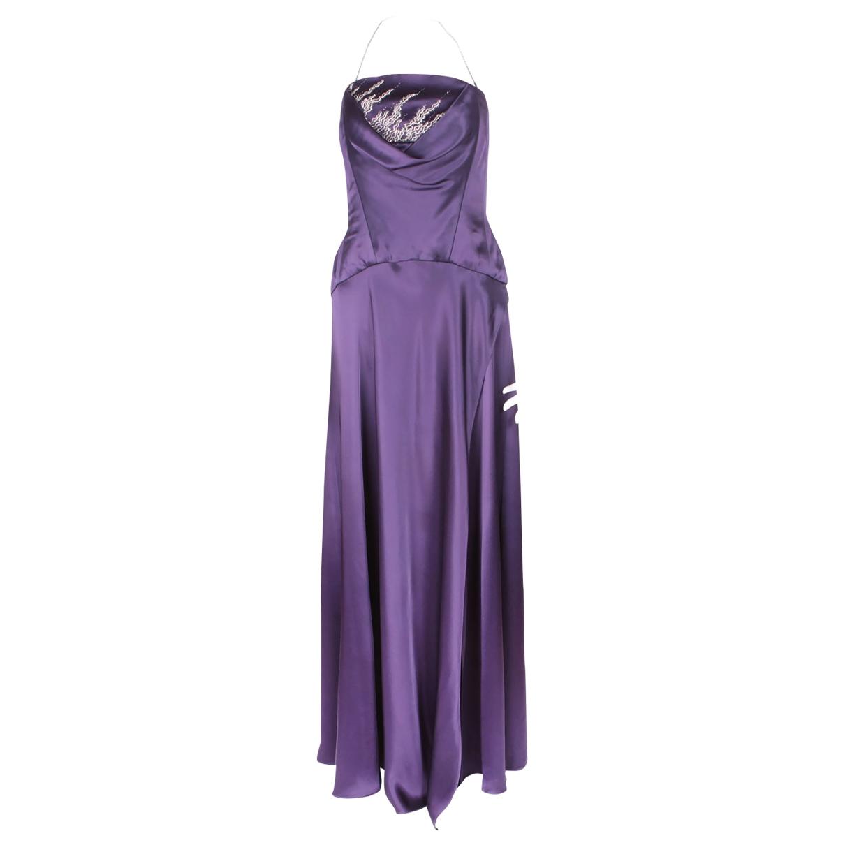 Maxi vestido Jacques Fath
