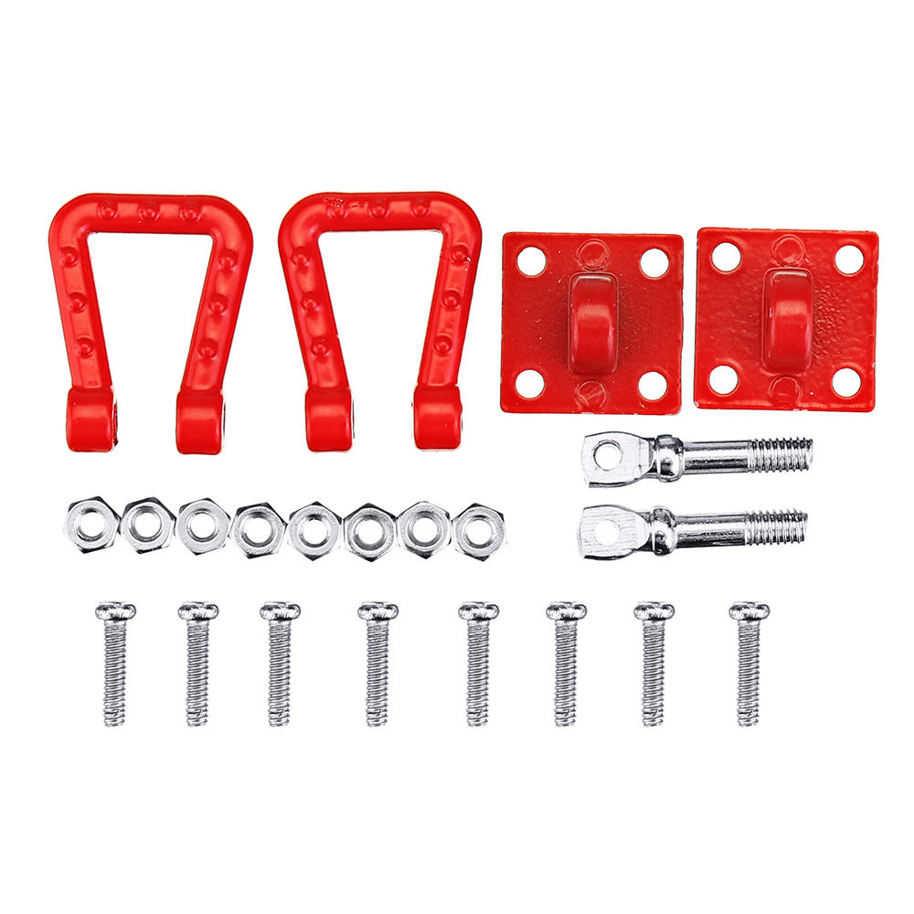 Simulate Metal Trailer Hitch Decoration RC Car Parts For 1/10 Trx4 Traxxas RC Models