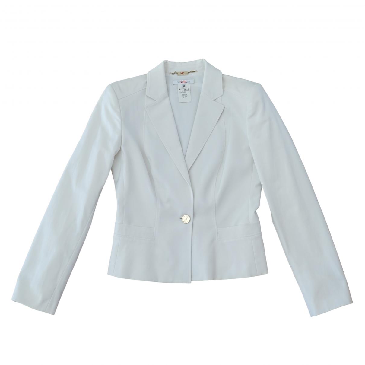 Versace Jean - Veste   pour femme en coton - blanc