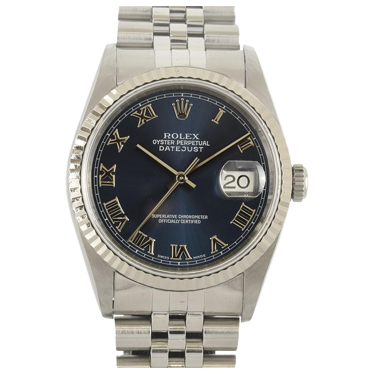 Rolex Datejust 31mm Uhr in  Blau Gold und Stahl