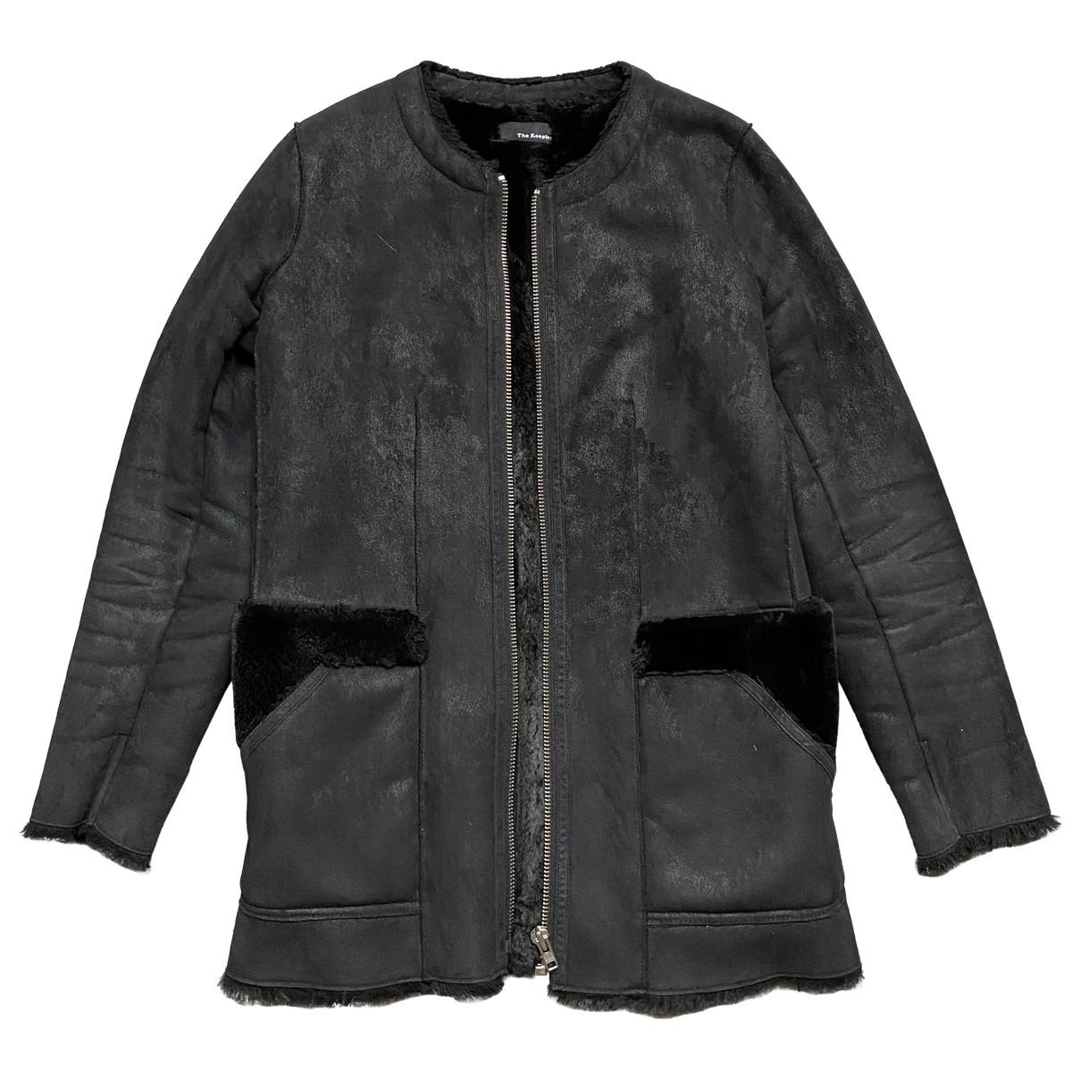 The Kooples \N Black coat for Women 36 FR