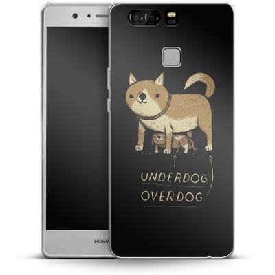 Huawei P9 Silikon Handyhuelle - Underdog Overdog von Louis Ros