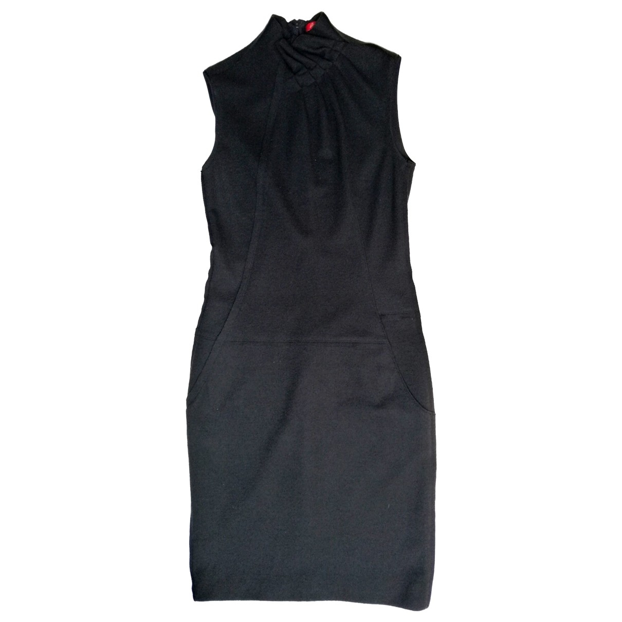 Brioni \N Kleid in  Schwarz Wolle