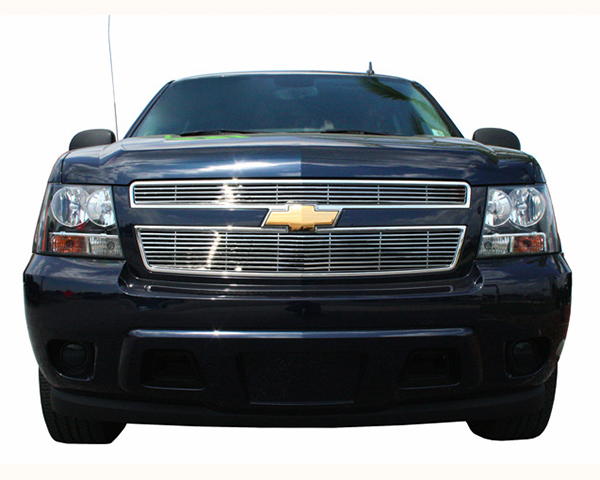 Quality Automotive Accessories 2-Piece Stainless Steel Bumper Billet Chevrolet Avalanche 2009