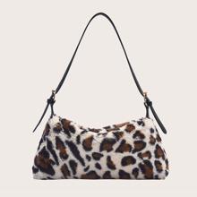 Bolso bandolero de leopardo