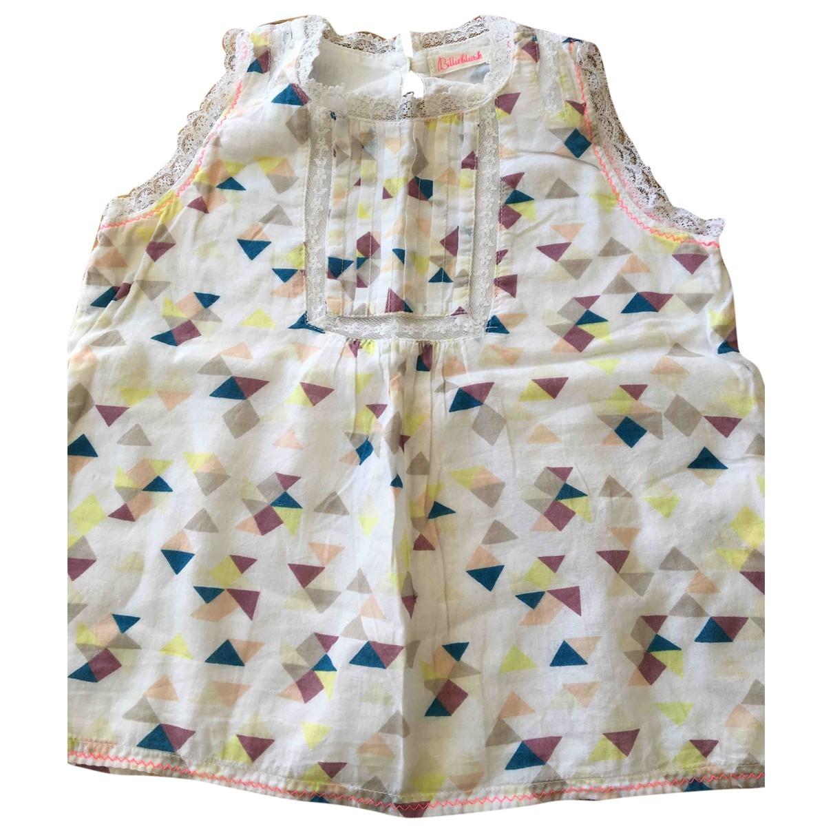 Billieblush - Top   pour enfant en coton - blanc