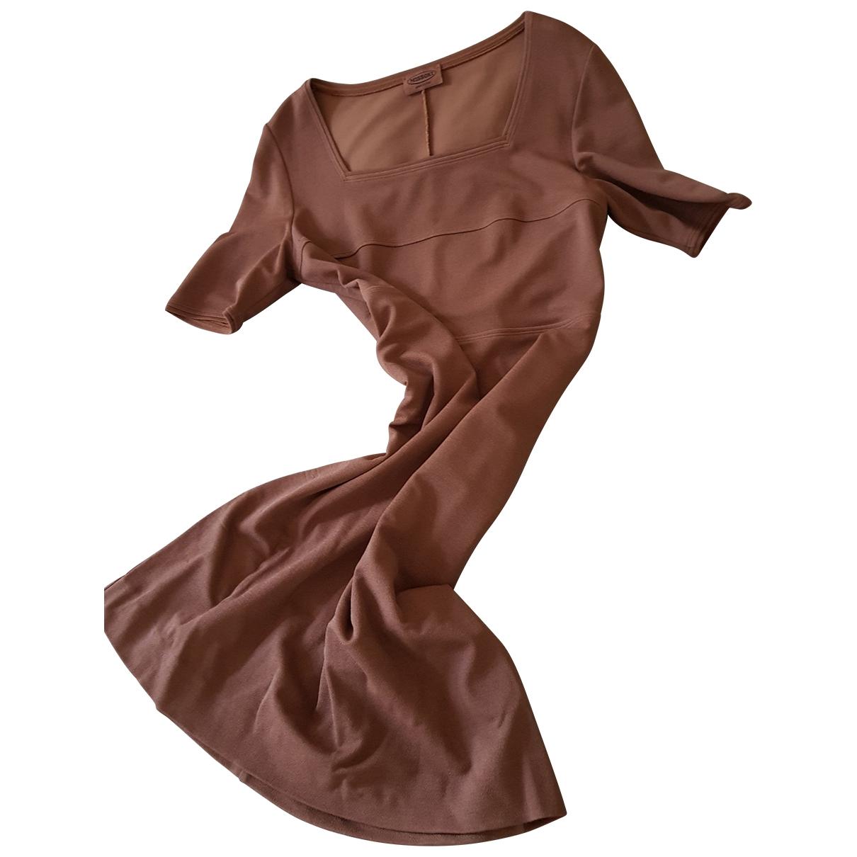 Missoni \N Brown Cotton - elasthane dress for Women 44 FR