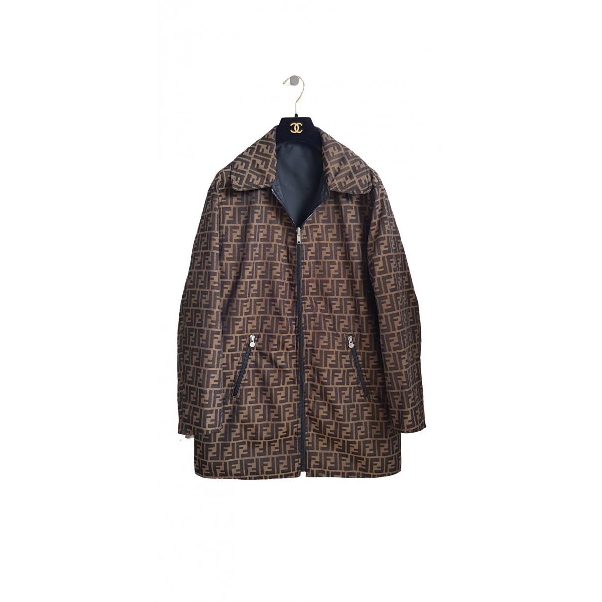 Fendi \N Brown jacket for Women 42 IT