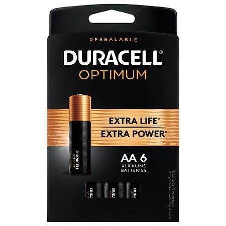 Duracell Optimum AA Alkaline Batteries - 1.0 ea