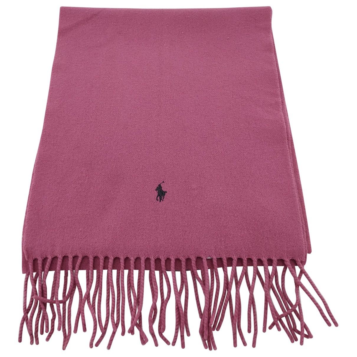 Polo Ralph Lauren \N Pink Wool scarf for Women \N