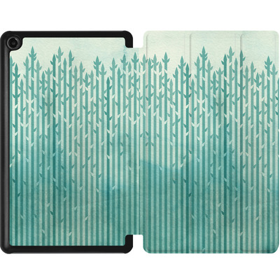 Amazon Fire 7 (2017) Tablet Smart Case - Misty Morning von Little Clyde